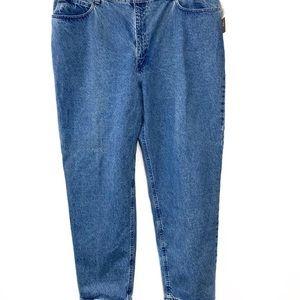 Plus size jeans straight leg 24W